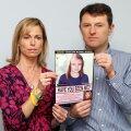 Kate ja Gerry McCann arvutis loodud pildiga Madeleine McCanni võimalikust välimusest aastaid pärast kadumist