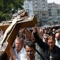 Крестовый поход. Как десятки тысяч прихожан Украинской православной церкви молились за мир