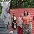 ФОТО: Трамвай в Ласнамяэ, Нымме и Хааберсти. Соцдемы представили предвыборные тезисы