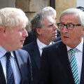 FT: Brexiti-probleemide keerukus koitis Johnsonile alles lõunal Junckeriga