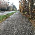 Пешеходно-велосипедная дорожка в Какумяэ получит асфальтовое покрытие