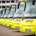 Simple Expressi bussid: illustratiivse tähendusega foto