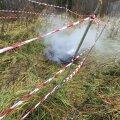 FOTOD: Süütamine? Viljandimaal hävis põlengus 1944. aastal rajatud metsavennapunker
