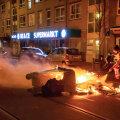 Улицы Гааги во время протестов