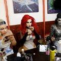 Uue seaduse järgi laste silmadele keelatud materjal: drag queen'ide iludusvõistlus möödunud nädalal Budapestis.