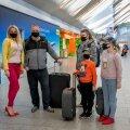 """Elly Künnap ja Meelis Merila sõidavad oma kolme lapsega nädalaks Türki. """"Väiksematele lastele on see esimene lennureis. Tütre sünnipäev on koroona tõttu juba kaks aastat ära jäänud, see reis on talle ka kingi eest."""""""