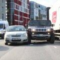 Kahe sõiduauto kokkupõrge