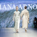 ФОТО И ВИДЕО | Офис, девушка, море... Diana Arno представила невероятную коллекцию весна-лето 2020 на Riga Fashion Week