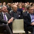 Siim Kallas ja Juhan Parts konverentsil