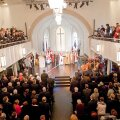 Pärast rekonstrueerimist avati Peterburi Jaani kirik pidulikult 20. veebruaril 2011.