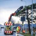 Elektrooniliste liiklusmärkide paigaldamine Tallinna–Pärnu maanteel