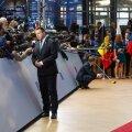Peaminister Jüri Ratas Brüsselis Euroopa Ülemkogul