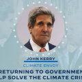 Biden nimetas kliimakriisi olulisuse rõhutamiseks oma eriesindajaks selles vallas endise välisministri John Kerry