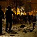 FOTOD ja VIDEO | Madridis puhkesid pärast sisserändaja surma tänavarahutused