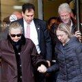 USA riigisekretär Hillary Clinton lahkus haiglast