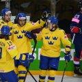 Jäähoki MM: Rootsi jäi brittide vastu kaotusseisu, kuid võttis ülivajaliku võidu