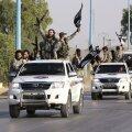 Terroristide paraad Raqqas.