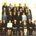 Eestist valitud delegaadid  ja kongressi  külalised Kremli Georgi saalis.