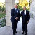 Президенты Белоруссии и России Александр Лукашенко и Владимир Путин