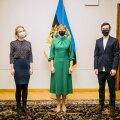 Алина Захарова, Керсти Кальюлайд, Виталий Бесчастный в Кадриорге