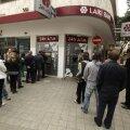 Küprosel avasid pangad taas uksed