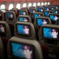 Mõni lennufirma pakub ka lühematel lendudel turistiklassis võimalusi. Näiteks isiklikku telerit. Pildil maailma parimaks lennufirmaks valitud Qatar Airwaysi turistiklass