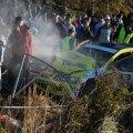 Möödunud laupäeval rajalt välja sõitnud juht tunnistas: süüdi polnud auto, vaid tema ise. (Foto: Irina Mägi)