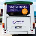 ФОТО | Сегодня в Ласнамяэ начинает работать вакцинационный автобус. Он сделает 24 остановки!