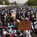 Tuhanded inimesed tulid Malis islamiäärmusluse vastu protestima