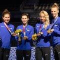 Eesti epeenaised saabusid Tokyost kuldmedalitega.