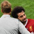 Jürgen Klopp ja Mohamed Salah
