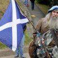 Šotlane Püha Andrease lipuga.
