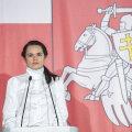 """Valgevene opositsiooniliider Tsihhanovskaja teatas, et on valmis dialoogiks """"targa juhi Putiniga"""""""