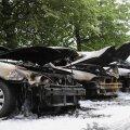 Õismäel põles seitse autot
