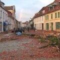 VIDEO ja FOTOD: Põhja-Saksamaal purustas tornaado pool väikelinna, autod lendasid 70 meetrit