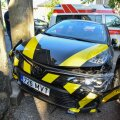 Viljandis põrkasid kokku kaks autot.
