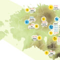 GRAAFIK | Ilmad tunduvad keskmisest soojemad? Vaata, millised on aprilli sooja- ja külmarekordid!