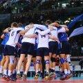 Horvaatia v Eesti võrkpalli EM finaalturniiri mäng Palavela Arenal Torinos.