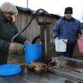 FOTOD: Järvakandis on inimesed juba teist päeva ilma veeta