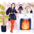 Loo oma kodust õdus rahu ja soojuse oaas, kus iga külaline sooviks lõpmatuseni kümmelda.