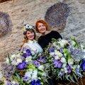 Дизанеры, флористы Татьяна Тридворнова и Наталья Жижко
