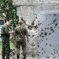 Ägenenud sõjategevus nõudis ööpäeva jooksul nelja Ukraina sõduri elu