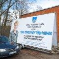 Karin Tammemägi sai kriminaalasja enne valimisi nende plakatite linna kulul üles riputamise eest
