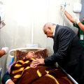 Peaminister Adel Abdul Mahdi ellujäänuga