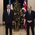 Министр обороны: Великобритания готова увеличить свое военное присутствие в Эстонии
