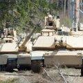 USA tankid M1A2 Abrams