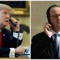 Donald Trump ja François Hollande