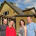 Paisjärve talu, maja taastamine, Riin Leas