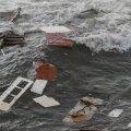 Laevaõnnetuses San Diegos merre uhutud asjad.