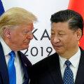 Presidendid Donald Trump ja Xi Jinping eelmisel aastal G20 tippkohtumisel.